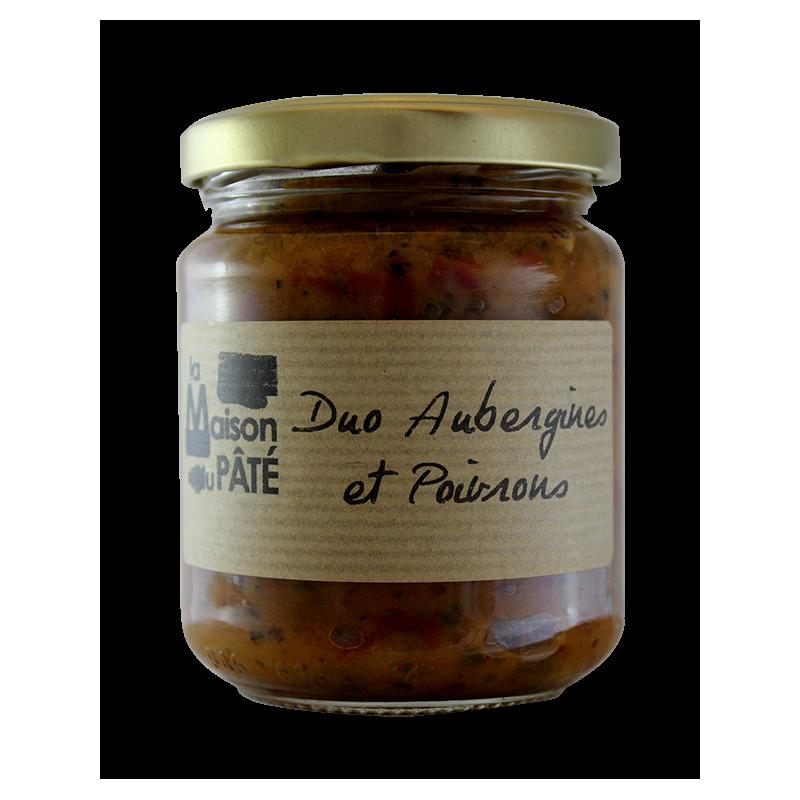 Duo Aubergines et Poivrons 200g