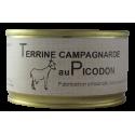 Terrine campagnarde au Picodon