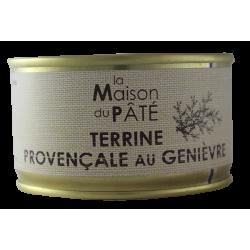 Terrine provençale au genièvre 130 g
