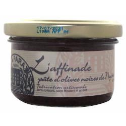 Affinade d'olives noires de Nyons AOP 90 g