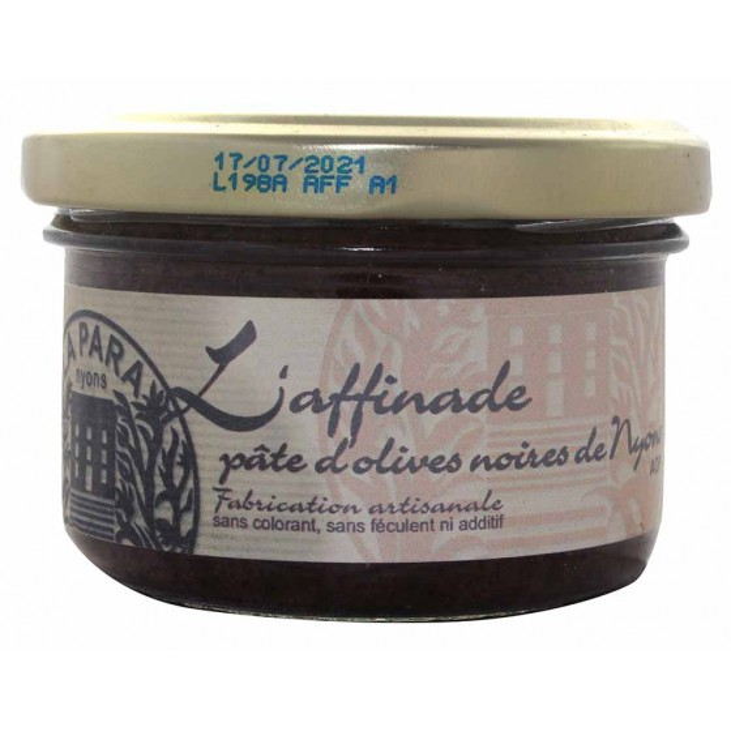 Pâte d'olives noires de Nyons AOP