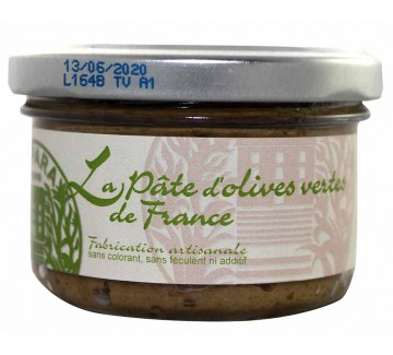 Pâte d'Olives Vertes de France 90g