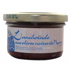 Spécialité d'Anchoïade aux Olives Noires de Nyons AOP 90g
