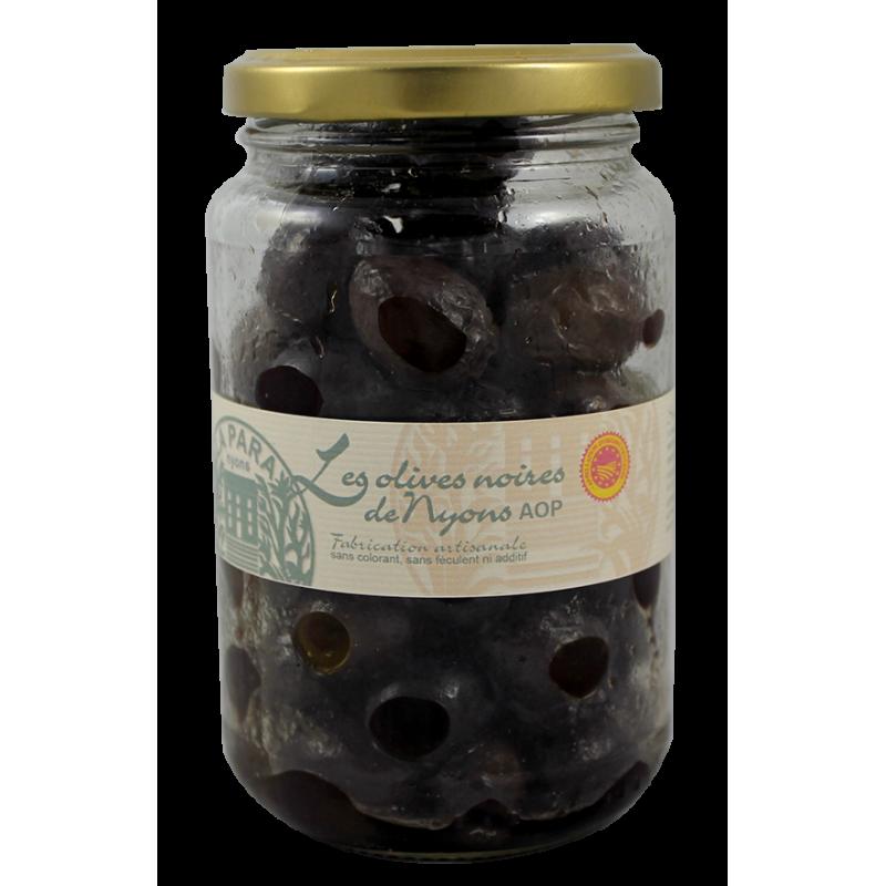 Olives Noires AOP de Nyons Bocal 500g
