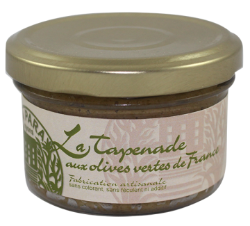 Tapenade d'Olives Vertes de France 90g