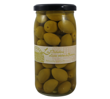 olives vertes picholines 370 ml