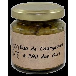 Duo de Courgettes à l'Ail des Ours 100g