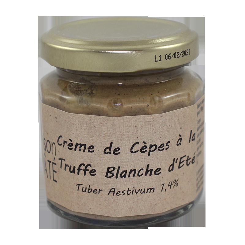 Crème de Cèpes à la Truffe Blanche d'Eté 100g