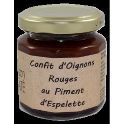 Confit d'Oignons Rouges au Piment d'Espelette 115 g