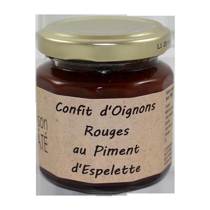 Confit d'Oignons Rouges au Piment d'Espelette 100g