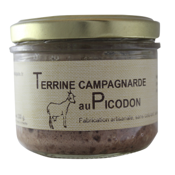 Terrine campagnarde au Picodon 200 g