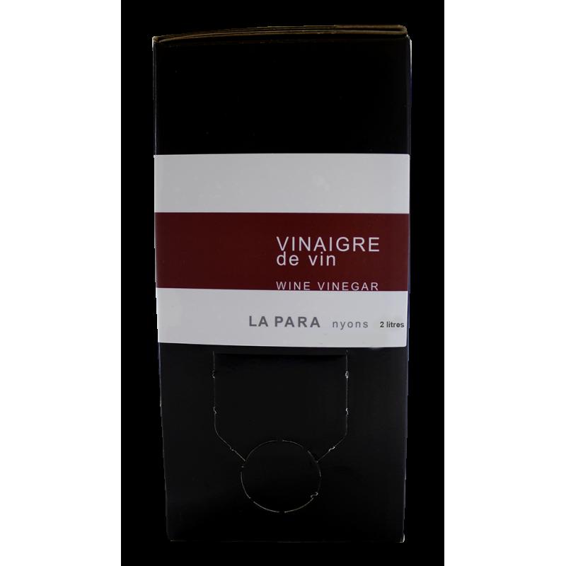 Vinaigre de vin rouge 2 litres