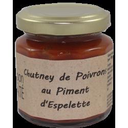 Poivron en chutney au piment espelette 200 g