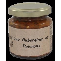Duo Aubergines et Poivrons 100 g