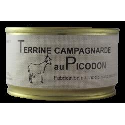 Terrine campagnarde au Picodon 130 g