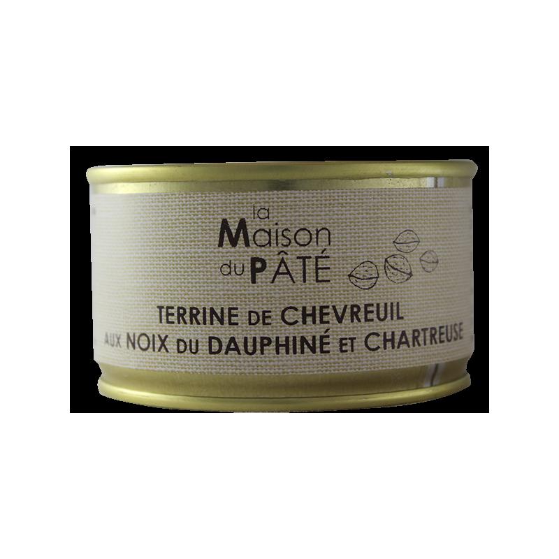 Terrine de Chevreuil aux Noix du Dauphiné et Chartreuse