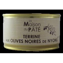 Terrine aux olives noires 130 g