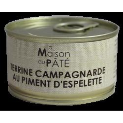 Terrine Campagnarde au Piment d'Espelette 130 g