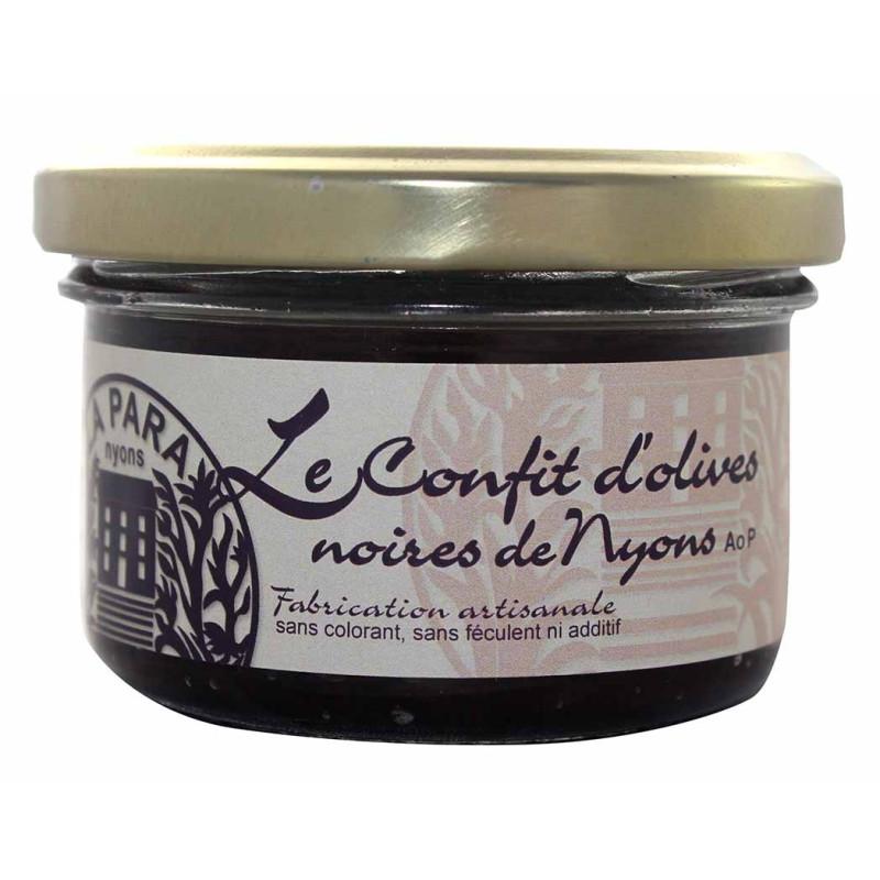 Confit d'olives noires de Nyons AOP 100g
