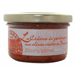 Crème de Poivron aux Olives Vertes de France 90g