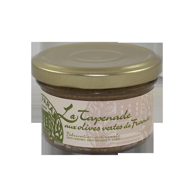 Tapenade d'Olives Vertes de France 90g