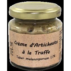Crème d'Artichaut à la Truffe Noire (Tuber Melanosporum) 100 g