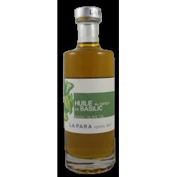 Huile d'Olive au Parfum de basilic 25 cl