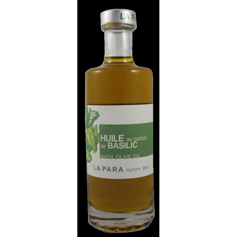 Huile verte Parfum de basilic 37,5 cl