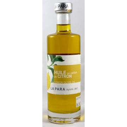 Huile d'Olive au Parfum de citrons 25 cl