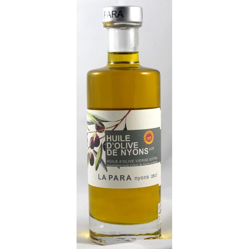 Huile d'olive de Nyons Appellation d'Origine Protégée AOP 37,5 cl