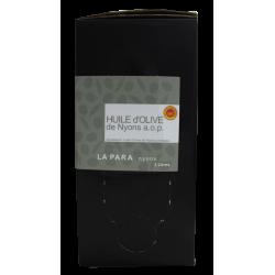 Huile d'olive de Nyons Appellation d'Origine Protégée AOP 2 litres