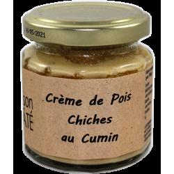 Crème de poix chiches au cumins 210 g