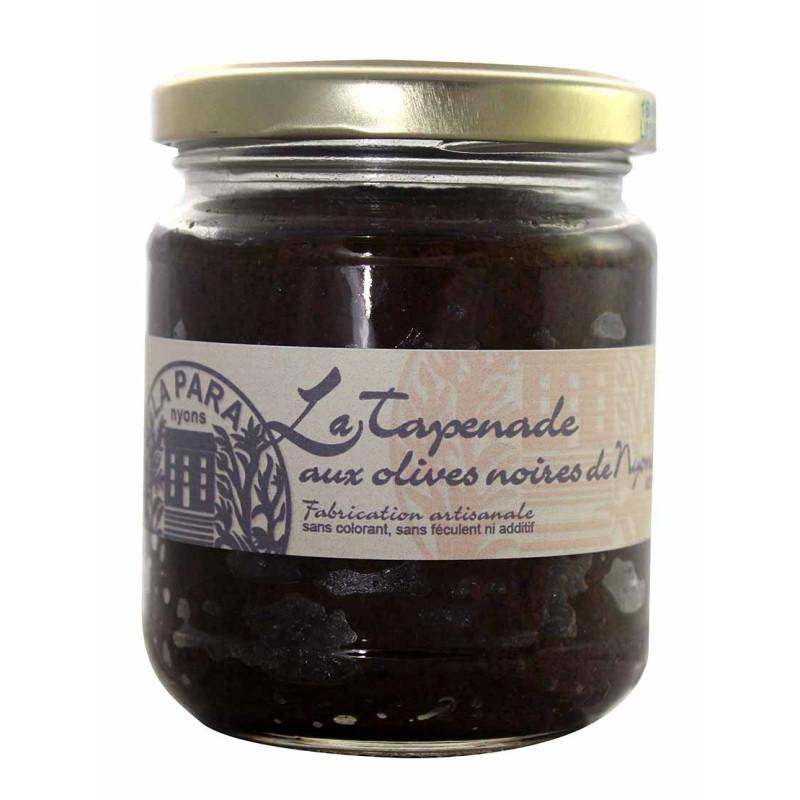 Tapenade aux Olives Noires AOP Nyons 90g